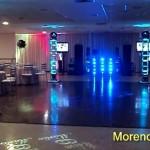 Casamento 4torres e cortina de led na base frente (www.morenodj.com.br)